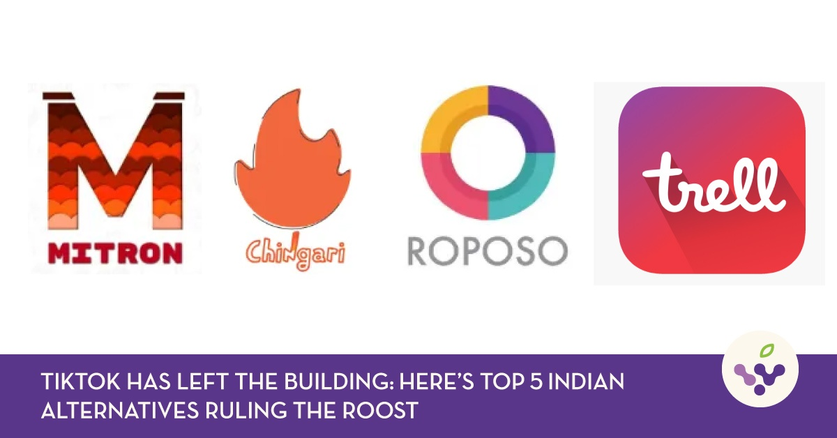 TikTok Has Left The Building: Here's Top 5 Indian Alternatives Ruling The Roost