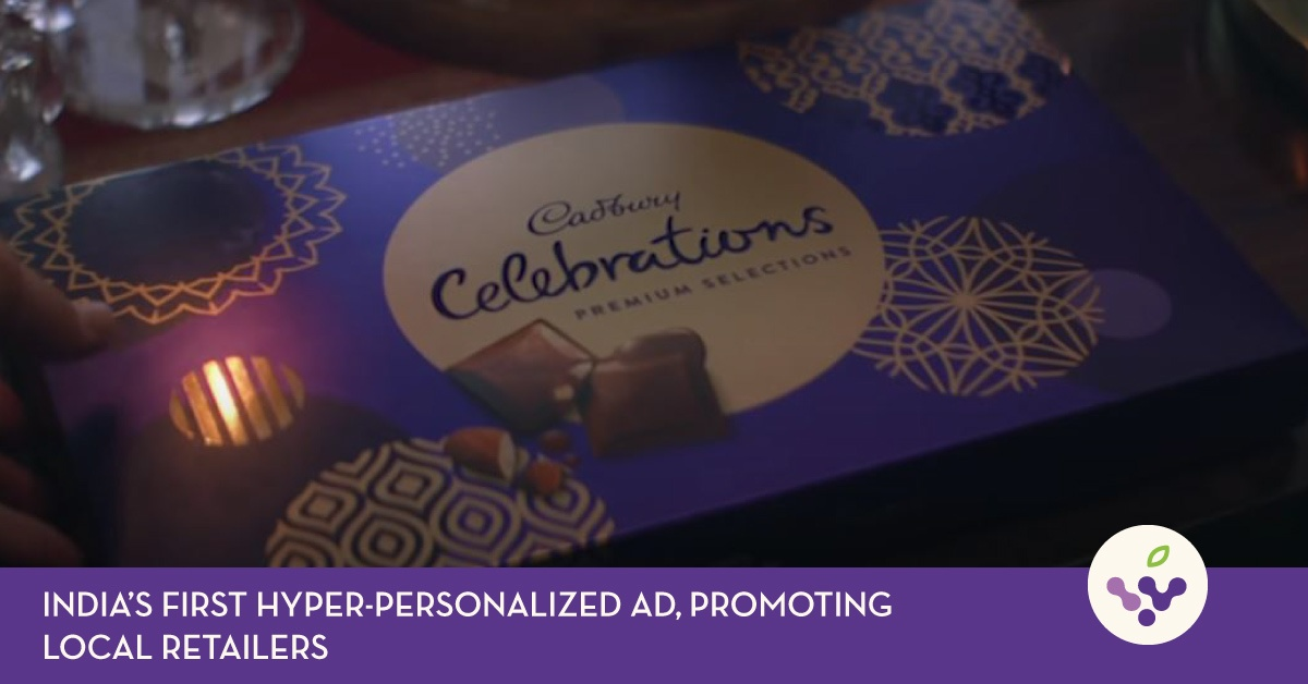 India's first hyper-personalized ad, promoting local retailers